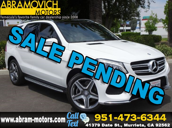 2016 Mercedes-Benz GLE 350 - MSRP: $68,635 - SUV - KEYLESS GO - SPORT / LIGHTING PACKAGE