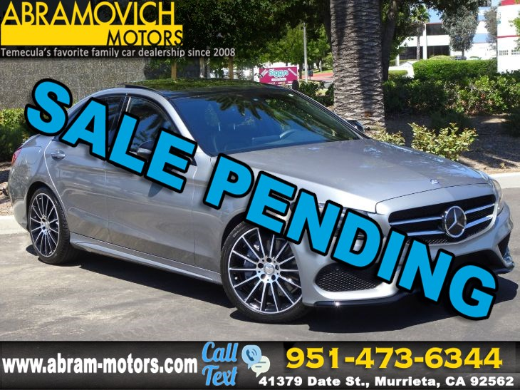 2016 Mercedes-Benz C 300 - MSRP: $51,555 - Sport Sedan - P2 PKG - MULTIMEDIA PKG - NIGHT PKG