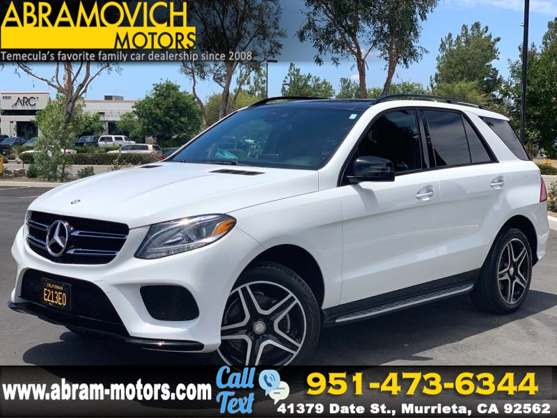 2016 Mercedes-Benz GLE 350 - MSRP $63,830 - SUV - PREMIUM / SPORT / NIGHT PACKAGE