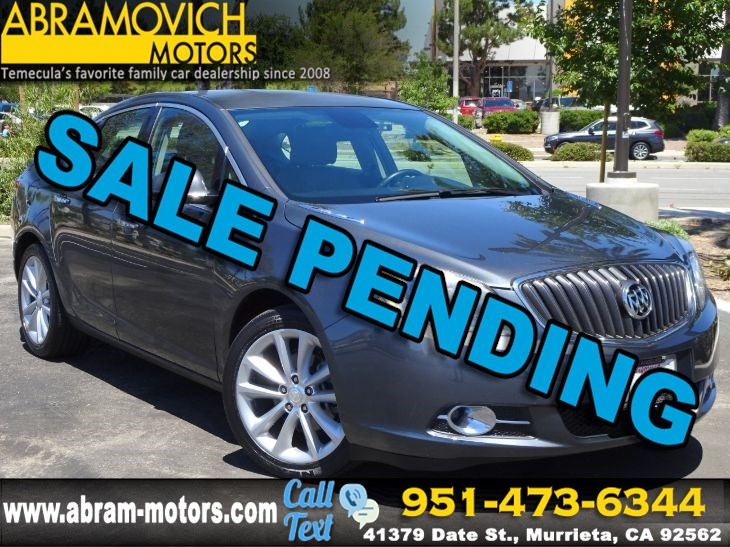 2013 Buick Verano Convenience Group - BLIND SPOT MONITORS