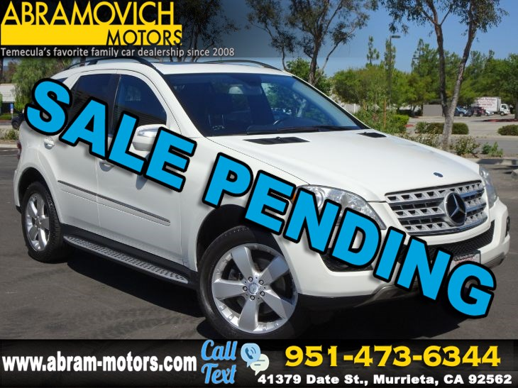 2010 Mercedes-Benz ML 350 RWD SUV - PREMIUM 1 PKG - RUNNING BOARDS