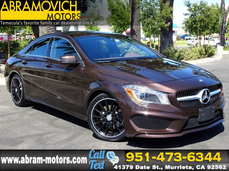 2015 Mercedes-Benz CLA 250 - FACTORY WARRANTY - Coupe - SPORT PKG - P1 PKG - INTERIOR PKG