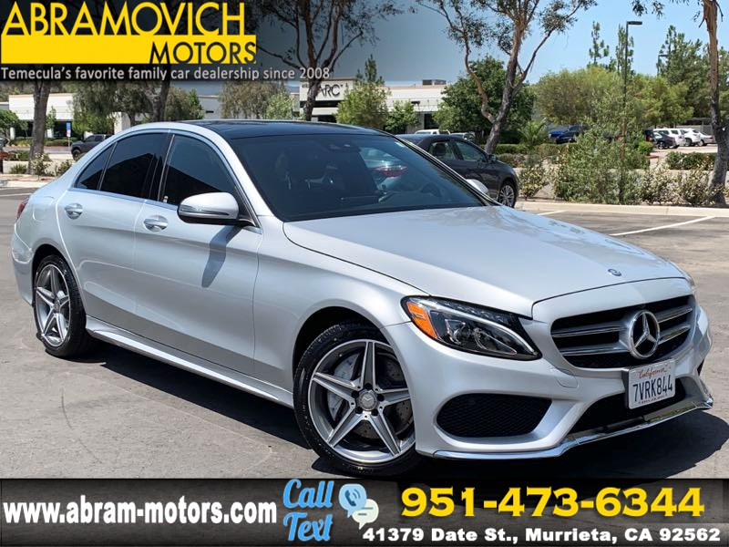 2016 Mercedes-Benz C 300 - MSRP: $53,905 - 4MATIC Sport Sedan - PREMIUM 2 / SPORT PACKAGE