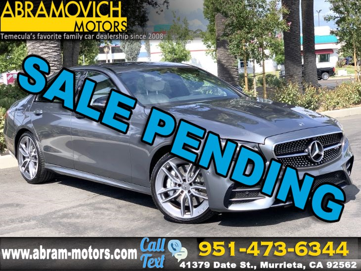 2019 Mercedes-Benz AMG E 53 4MATIC Sedan - 1 OWNER - SUN PROTECTION PACKAGE