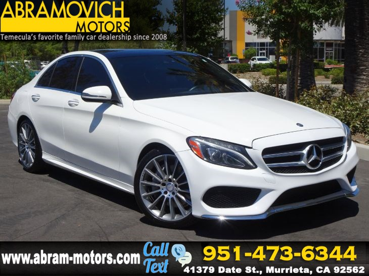 2016 Mercedes-Benz C 300 - MSRP $48,655 - Sedan - SPORT PKG - 1 OWNER - P2 PKG -LIGHTING PKG