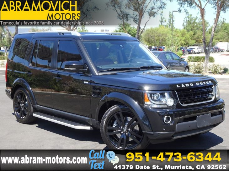 2016 Land Rover LR4 HSE LUX Landmark Edition - NAVI - 3RD ROW SEAT