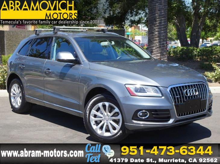 2016 Audi Q5 - MSRP $48,195 - Premium Plus - TECHNOLOGY PACKAGE - LEASE RETURN