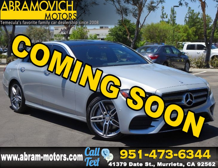2017 Mercedes-Benz E 300 - MSRP: $65,035 - RWD Sedan - PREMIUM 2 / SPORT PACKAGE