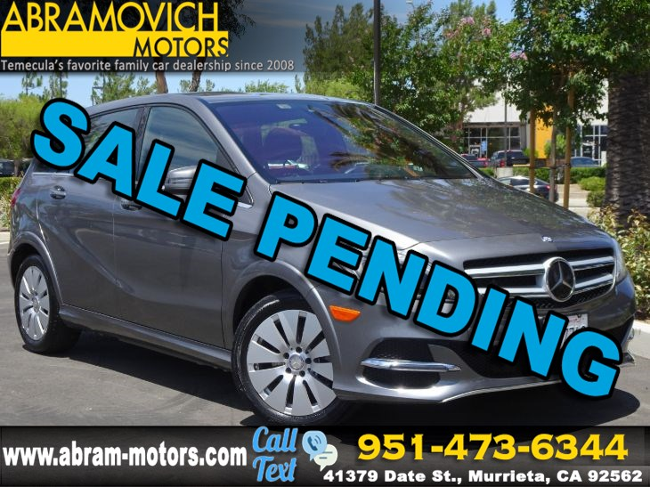 2016 Mercedes-Benz B-Class B250e- MSRP: $49,140 - Electric Drive - PREMIUM / MULTIMEDIA PACKAGE