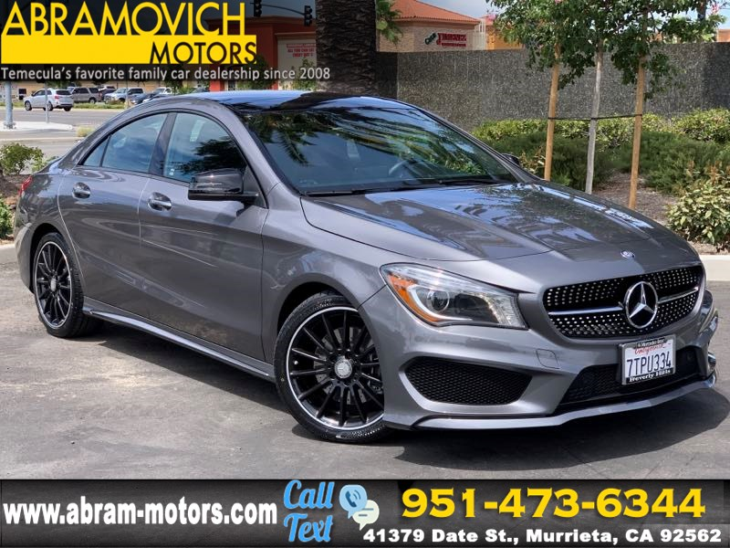 2016 Mercedes-Benz CLA 250 - MSRP $44,510 - Coupe - SPORT / NIGHT / MULTIMEDIA PACKAGE