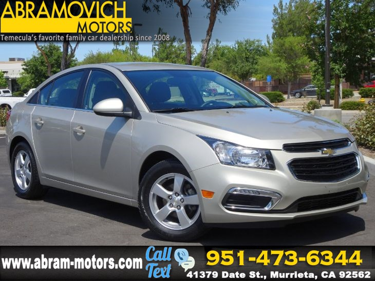 2015 Chevrolet Cruze LT - SATELLITE RADIO - PRICED TO SELL