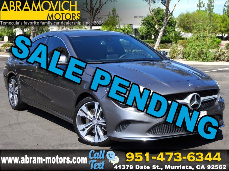 2017 Mercedes-Benz CLA 250 - MSRP $37,595 - Coupe - KEYLESS GO - CONVENIENCE PACKAGE