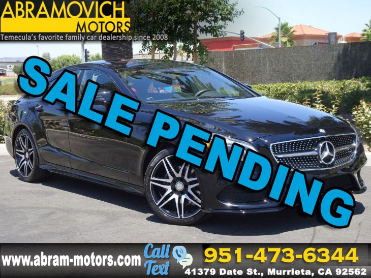 2016 Mercedes-Benz CLS 400 - MSRP $80,210 - Coupe - SPORT / NIGHT / PREMIUM 2 PACKAGE