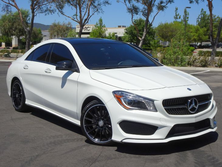 2016 Mercedes-Benz CLA 250 - MSRP: $39,785 - Coupe - NIGHT PACKAGE - SPORT PACKAGE