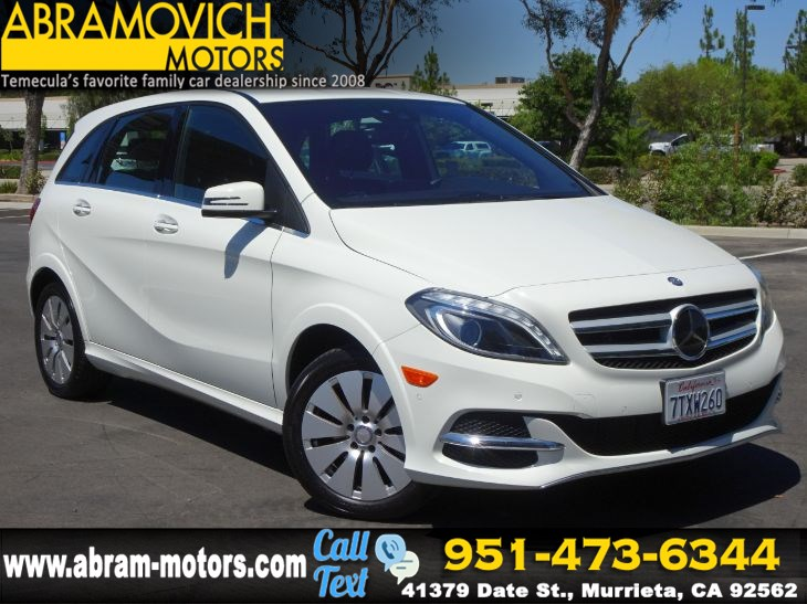 2016 Mercedes-Benz B-Class - MSRP: $46,910 - Electric Drive - BLIND SPOT MONITORS - PREMIUM PKG