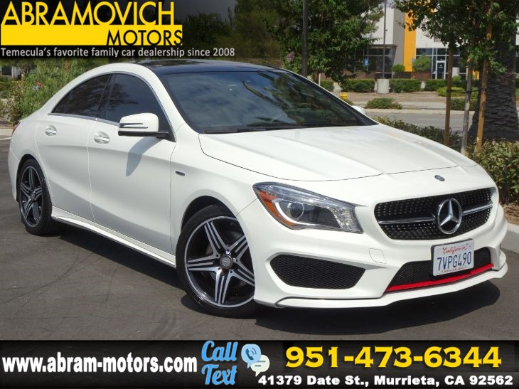 2016 Mercedes-Benz CLA 250 - MSRP $45,880 - Coupe - SPORT PLUS / MULTIMEDIA / PREMIUM PKG