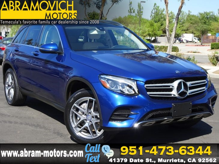 2017 Mercedes-Benz GLC 300 - MSRP $48,005 - SUV - SPORT PACKAGE - PREMIUM 1 PACKAGE