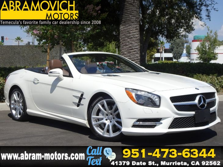 2015 Mercedes-Benz SL 400 - MSRP $88,900 - PREMIUM 1 PACKAGE - LEASE RETURN