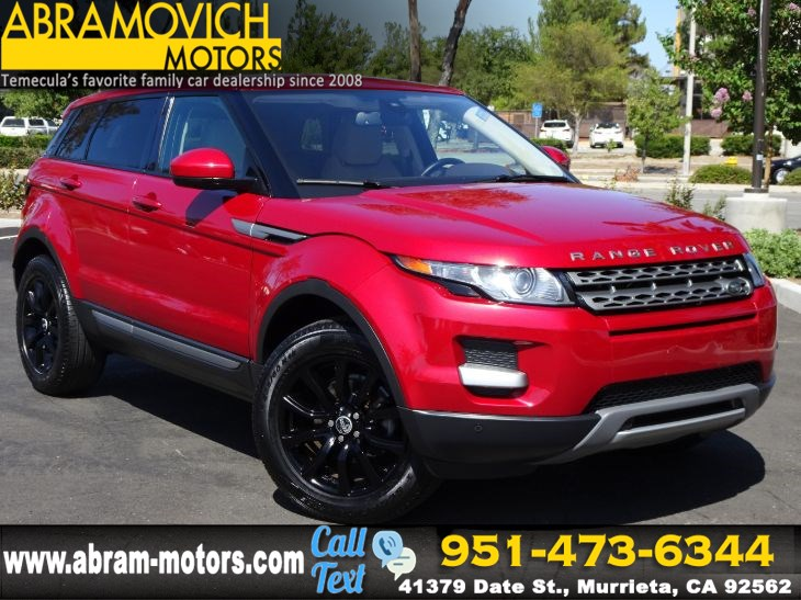 2015 Land Rover Range Rover Evoque Pure - KEYLESS START - REAR PARKING AID