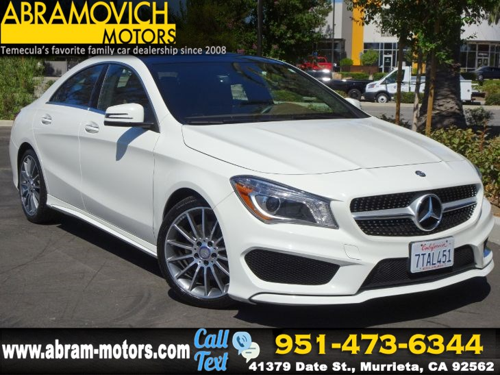 2016 Mercedes-Benz CLA 250 - MSRP $45,010 - Coupe - NAVI - PREMIUM / SPORT - PACKAGE