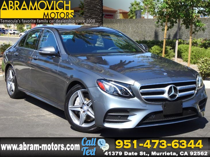 2017 Mercedes-Benz E 300 - MSRP $59,045 - RWD Sedan - PREMIUM 1 / SPORT PACKAGE