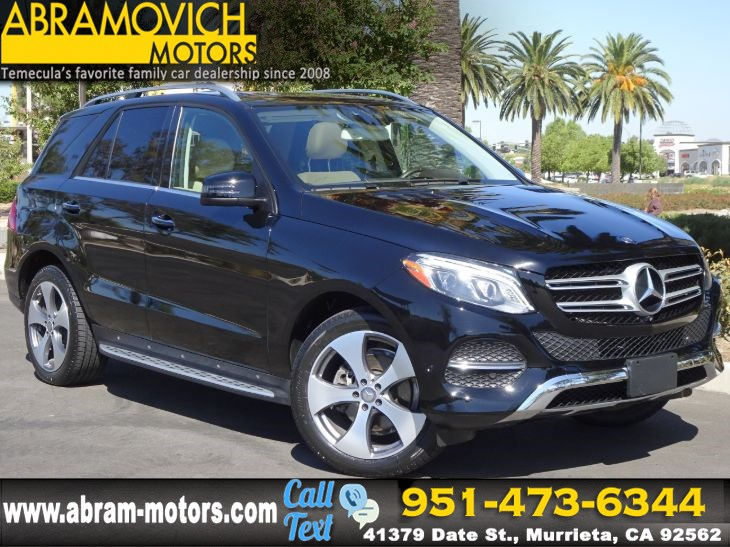 2016 Mercedes-Benz GLE 350 - MSRP $61,455 - SUV - KEYLESS GO - NAVI - PREMIUM PACKAGE