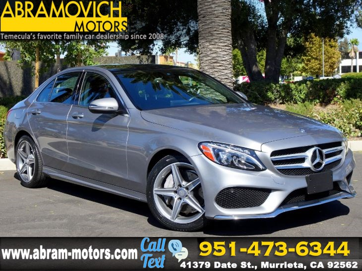 2016 Mercedes-Benz C 300 - MSRP $53,905 - 4MATIC Sport Sedan - MULTIMEDIA / SPORT PKG