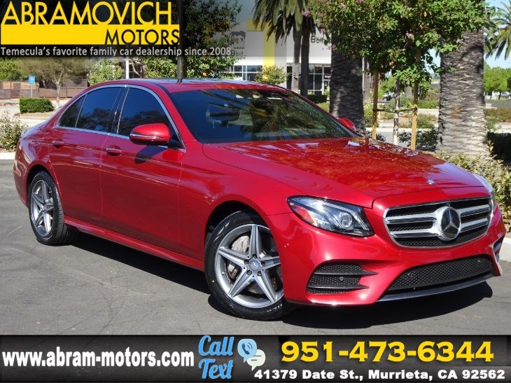 2017 Mercedes-Benz E 300 - MSRP $70,955 - 4MATIC Sedan