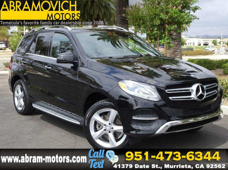 2016 Mercedes-Benz GLE 350 - MSRP $57,240 - SUV - KEYLESS GO - PREMIUM PACKAGE