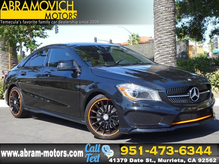 2016 Mercedes-Benz CLA 250 - MSRP $42,940 - 4MATIC Coupe - SPORT / PREMIUM 1 PACKAGE