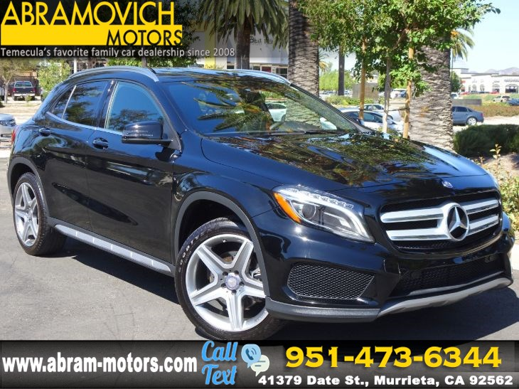 2016 Mercedes-Benz GLA 250 - MSRP $42,005 - SUV - SPORT / MULTIMEDIA / PREMIUM PACKAGE
