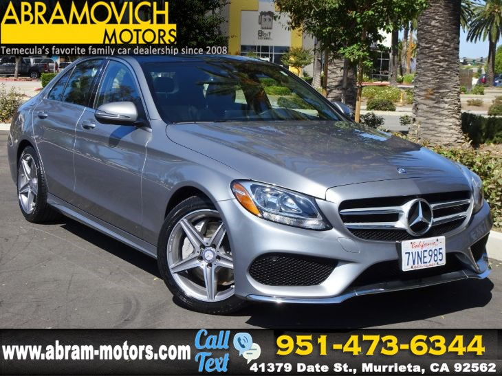 2016 Mercedes-Benz C 300 - MSRP $49,005 - Sport Sedan - MULTIMEDIA / SPORT / PREMIUM 1 PKG