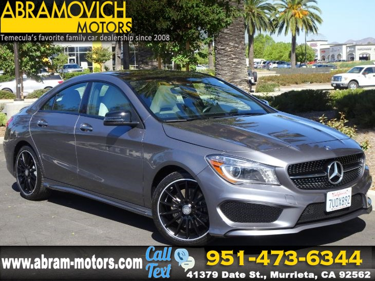2016 Mercedes-Benz CLA 250 - MSRP $42,505 - 4MATIC Coupe - NIGHT / SPORT PACKAGE