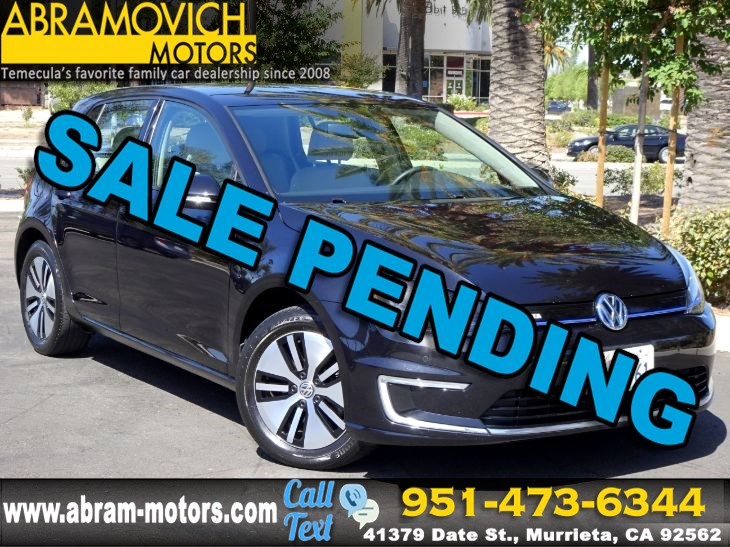 2016 Volkswagen e-Golf SEL Premium - APPLE CARPLAY - PRICED TO SELL