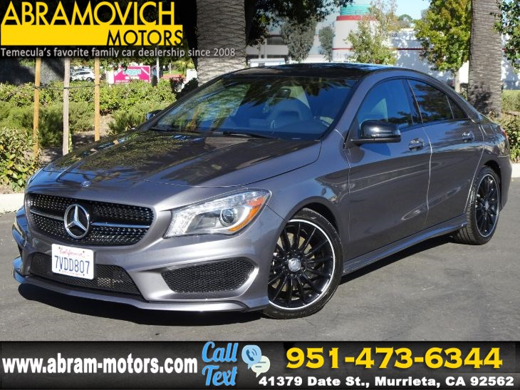 2016 Mercedes-Benz CLA 250 - MSRP $40,505 - Coupe - KEYLESS GO - NIGHT / SPORT PKG