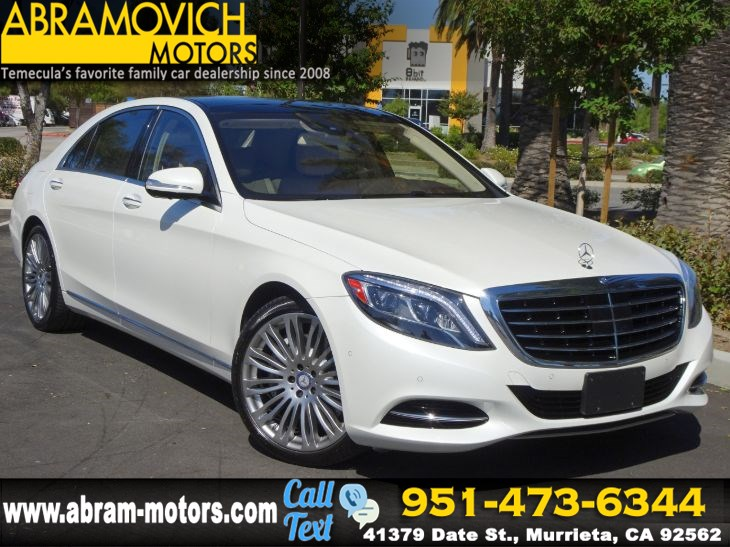 2016 Mercedes-Benz S 550 - MSRP $112,975 - 4MATIC Sedan - HEAD UP DISPLAY - PREMIUM PKG