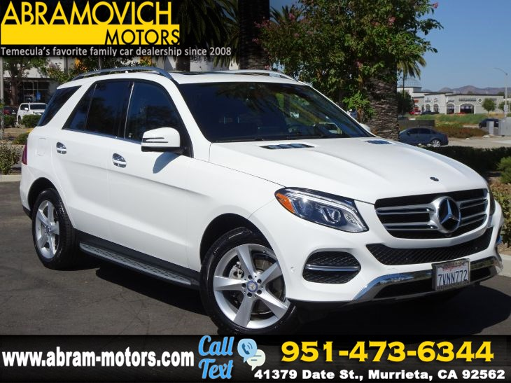 2017 Mercedes-Benz GLE 350 4MATIC SUV - MSRP $65,160 - - PARKING ASSIST PACKAGE