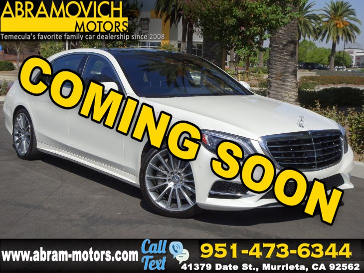 2016 Mercedes-Benz S 550e - MSRP $114,360 - Plug-In Hybrid Sedan - SPORT / PREMIUM PACKAGE