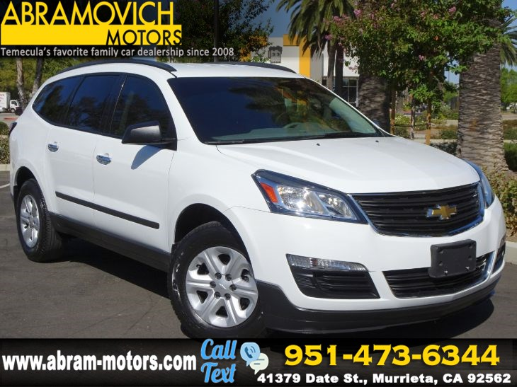 2016 Chevrolet Traverse LS - THIRD ROW SEAT - PRICED TO SELL