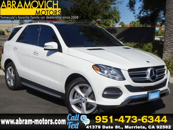 2017 Mercedes-Benz GLE 350 - MSRP $63,530 - 4MATIC SUV - NAVI - PARKING ASSIST PACKAGE