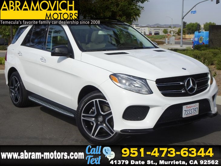 2016 Mercedes-Benz GLE 350 - MSRP $63,280 - SUV - SPORT / NIGHT / PREMIUM PACKAGE