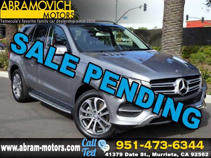 2016 Mercedes-Benz GLE 350 - MSRP $66,860 - 4MATIC SUV - LIGHTING / PREMIUM PACKAGE