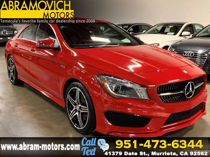 2016 Mercedes-Benz CLA 250 - MSRP $40,065 - Coupe - BLIND SPOT MONITORS - SPORT PACKAGE PLUS