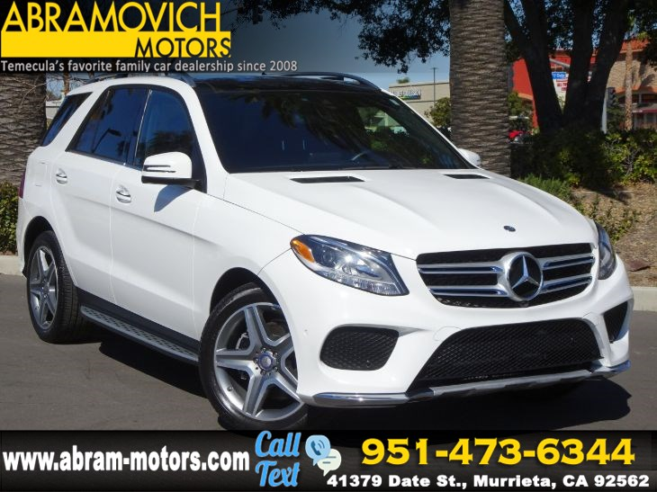 2016 Mercedes-Benz GLE 350 - MSRP $66,140 - 4MATIC SUV - SPORT / PARKING ASSIST PACKAGE
