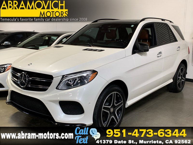2016 Mercedes-Benz GLE 350 - MSRP $72,440 - SUV - NIGHT / SPORT / LIGHTING PACKAGE
