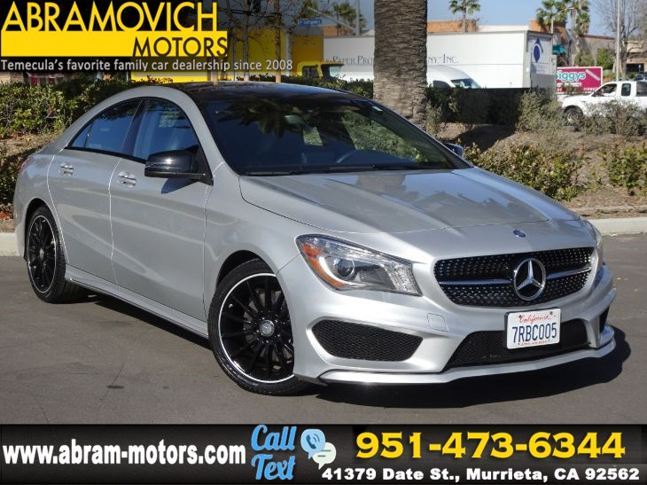2016 Mercedes-Benz CLA 250 - MSRP $40,855 - Coupe - NIGHT / SPORT PACKAGE - PANORAMIC ROOF