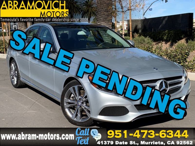 2016 Mercedes-Benz C 300 - MSRP $49,880 - Sedan - MULTIMEDIA / PREMIUM 2 PACKAGE