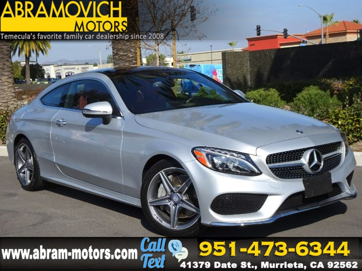 2017 Mercedes-Benz C 300 Coupe - KEYLESS GO - SPORT / MULTIMEDIA PACKAGE