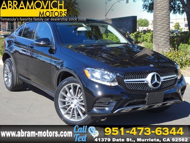 2017 Mercedes-Benz GLC 300 4MATIC Coupe - NEW GOODYEAR TIRES - P1 PKG