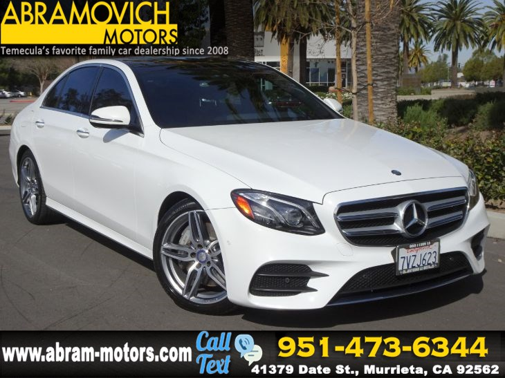 2017 Mercedes-Benz E 300 RWD Sedan - LUXURY / PREMIUM PACKAGE